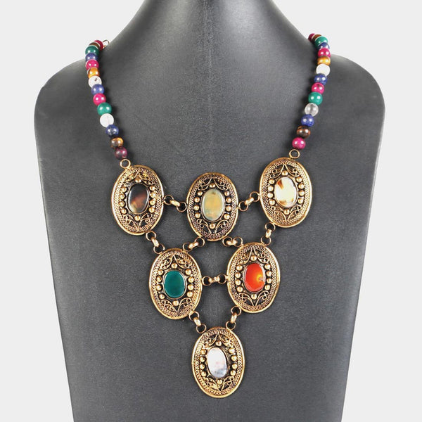 Coronation Jewels Necklace by Suman Mishra Jewelry