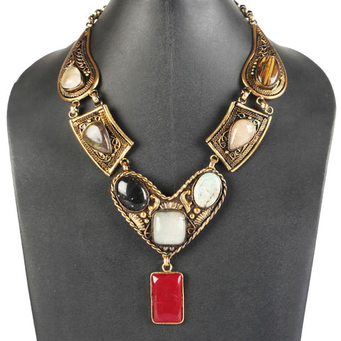 Turkish Delight Necklace by Suman Mishra Jewelry