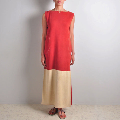 Colour-Blocked Dress by JAYATI GOENKA