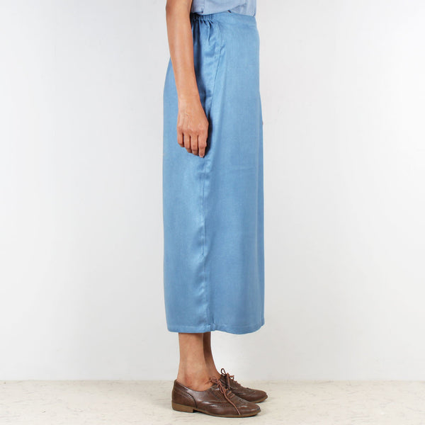 Cig Rayon Twill Straight Fit Skirt