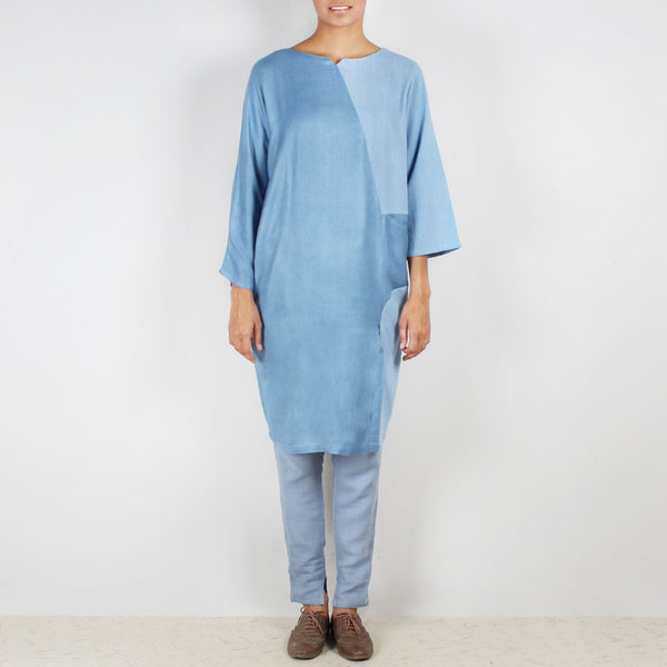A Set Of Moonstar Tunic & Cig Trousers by JAYATI GOENKA