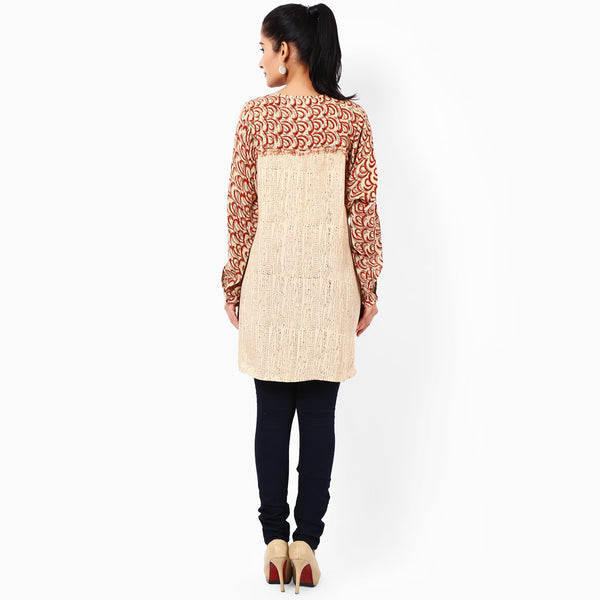 Beige Cotton Tunics