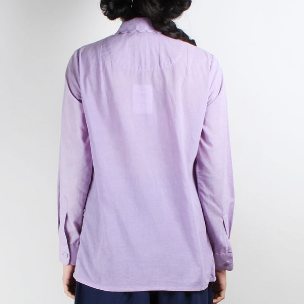 Maar Mauve Embroidered Shirt