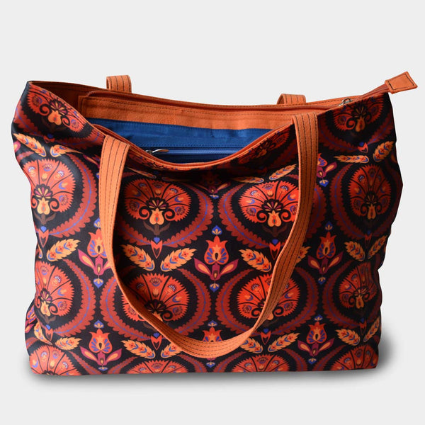 Geometric Patterned Bag