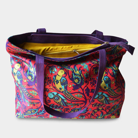 Parrot Bag by Noorani Biswas