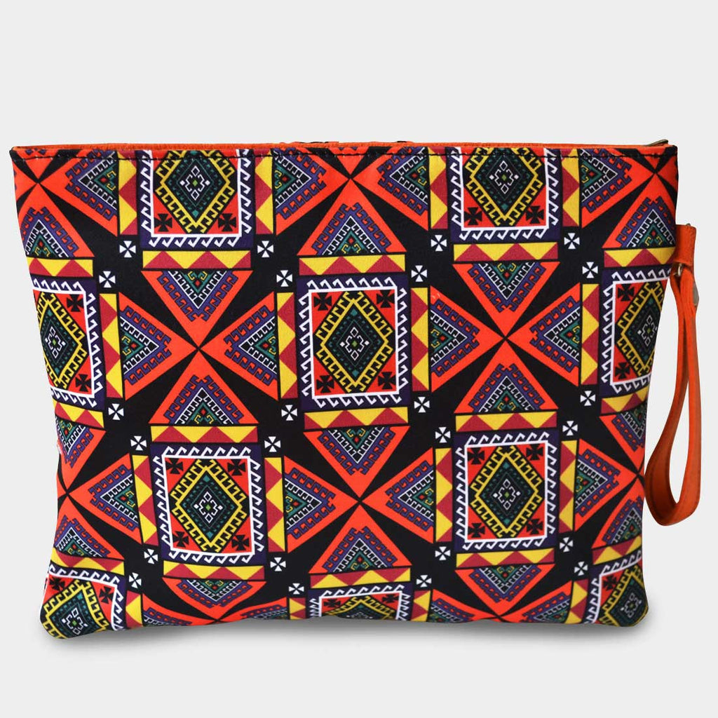 Digital Patterned Pouch by Noorani Biswas