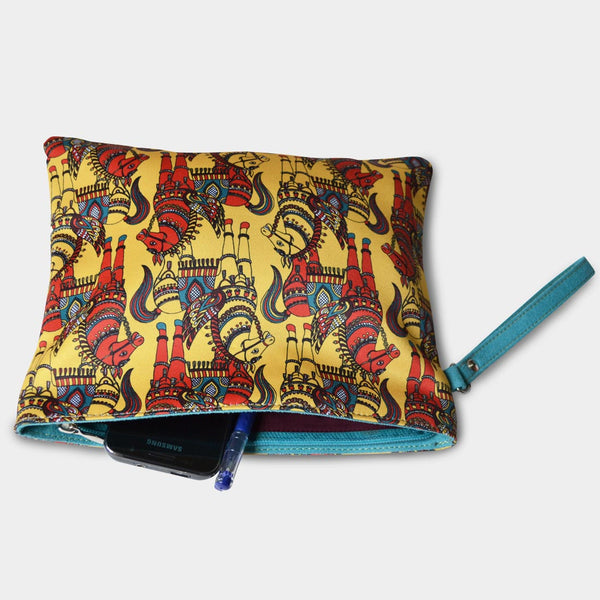 Yellow Horses Pouch