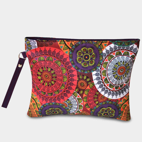 Geometric Patterned Pouch by Noorani Biswas
