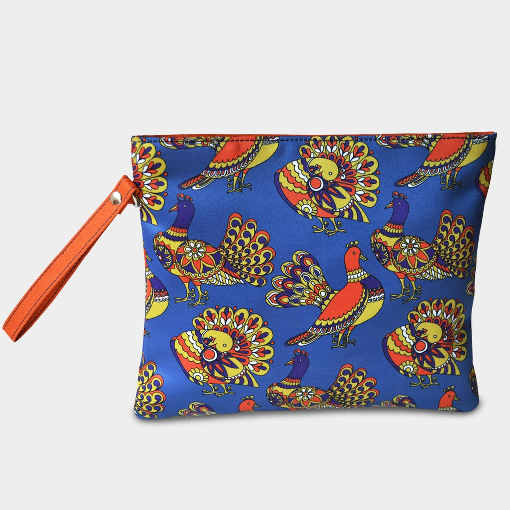 Peacock Pouch by Noorani Biswas