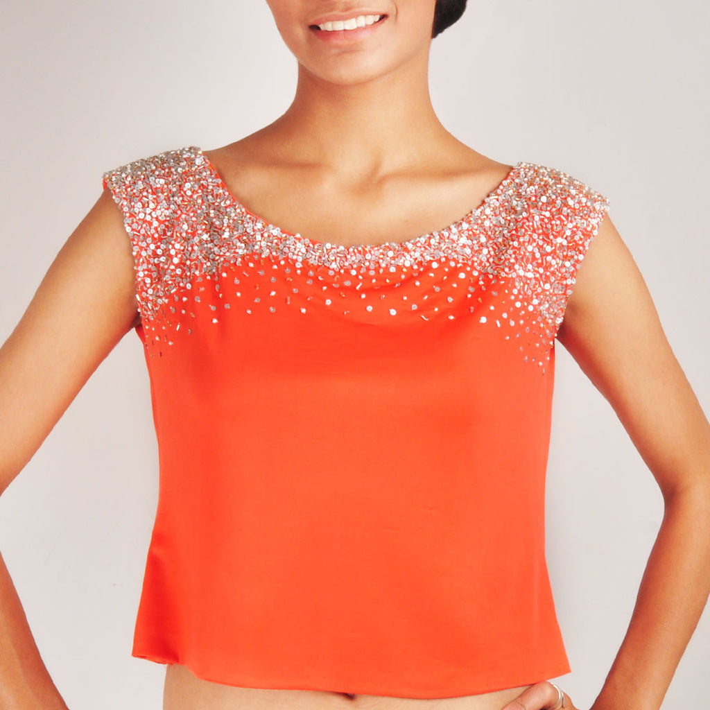 Bling Crop Top by Renee