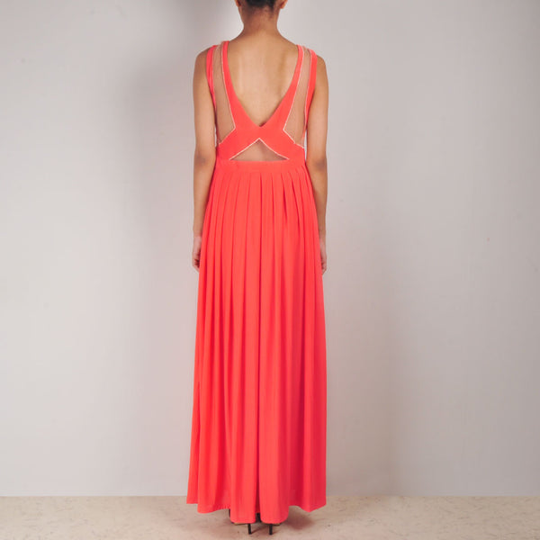 Coral Serene Gown