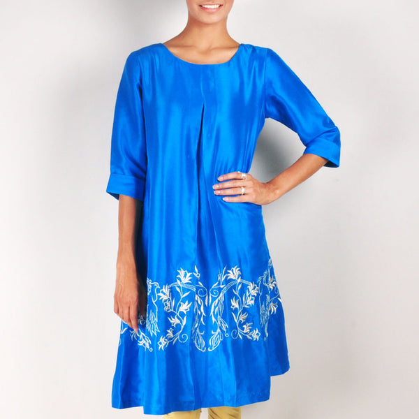 Peacock Paradise Tunic by Rene