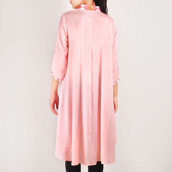 Melon Pearl High Low Tunic