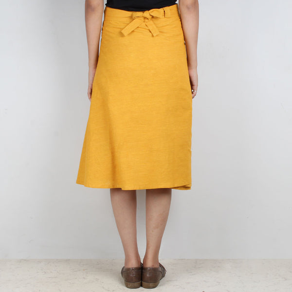 Yellow South Cotton Skirt