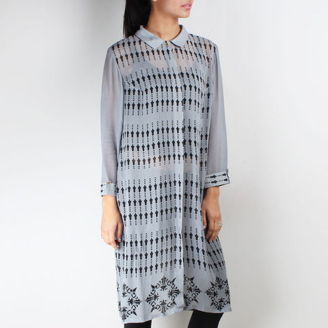 Memphis Shirt Tunic by SOUP by Sougat Paul