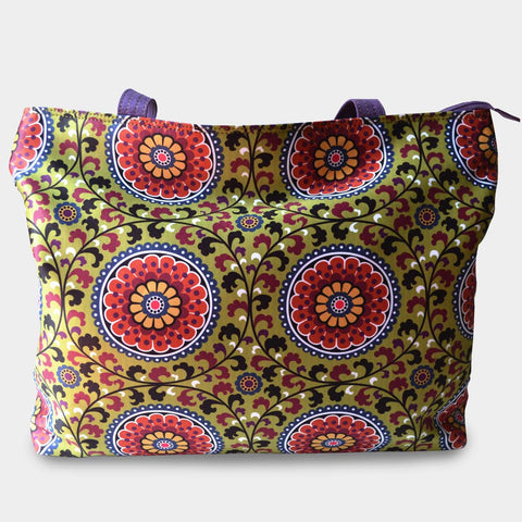 Suzni bag by Noorani Biswas