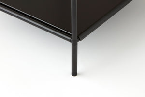Nightstand Black - Abstracta System