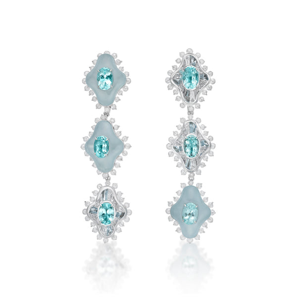 The Paraiba Earrings