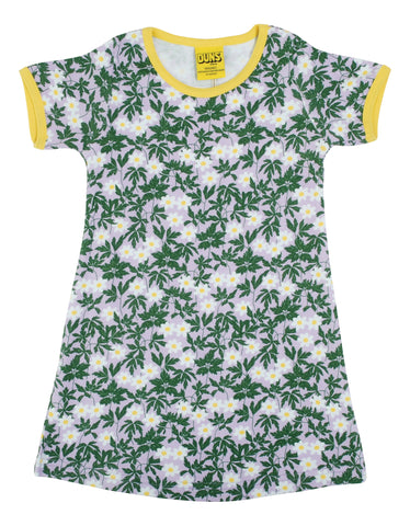 Duns Sweden ADULT - Shortsleeve Dress Wood Anemone Viola