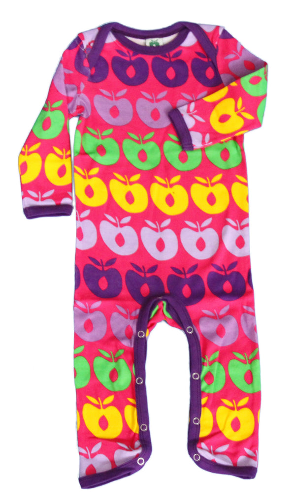 Smafolk - Jumpsuit Prink Colourfull Apples