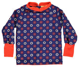 Albababy - Tunic Bellis Blue Flowers