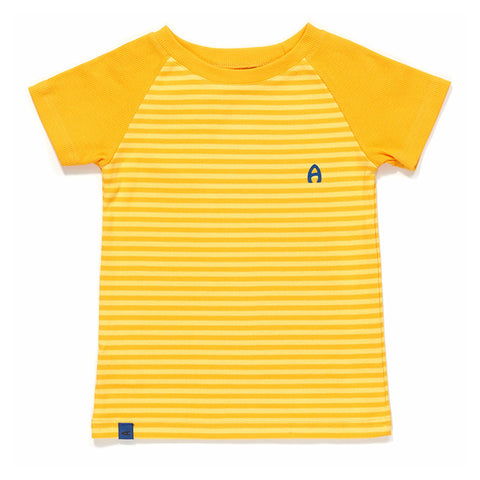Albababy - Elas T-Shirt - Yellow Striped