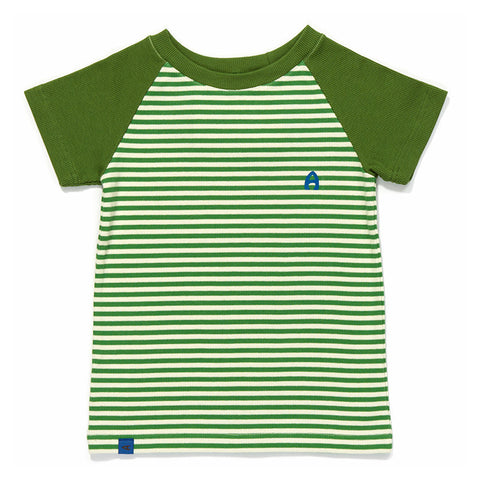 Albababy - Elas T-Shirt - Green Striped