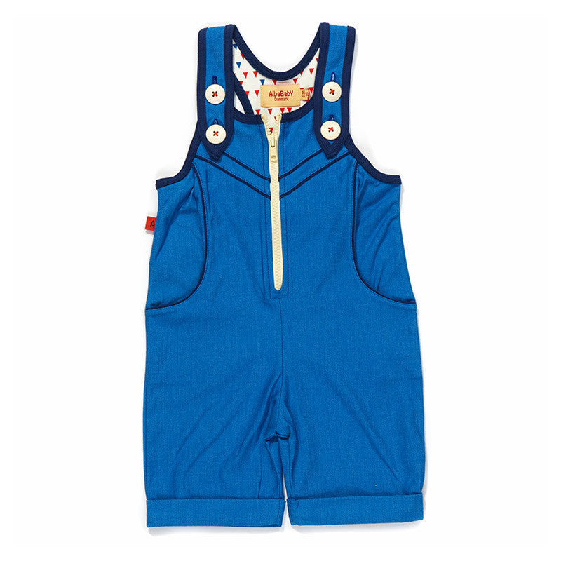 Albababy - Easy Short Crawler Blue