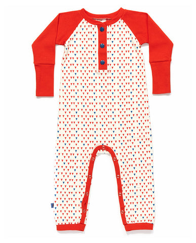 Albababy - Edna JumpsuitRed/Blue Blue/Red