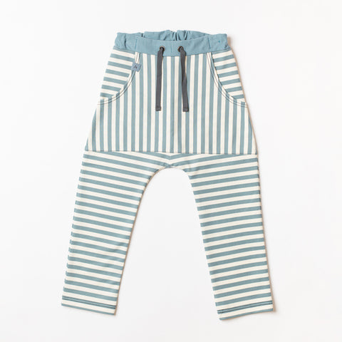 AlbaBaby Pants Jack Striped Bluestone