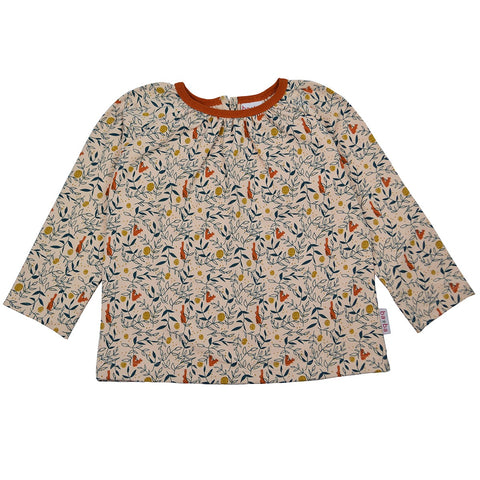 Baba Babywear - Amber Shirt Sweat Girls Rabbit & Squirrels