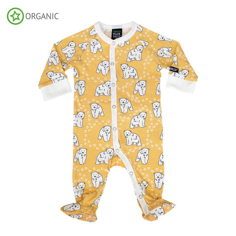 Villervalla - Jumpsuit with Foot Polar Bear Honey