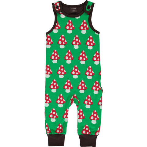 Maxomorra Classic - Playsuit Mushrooms - Dungarees Paddenstoelen