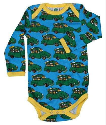 Smafolk - Body LS Cars - Turquoise Romper Auto's