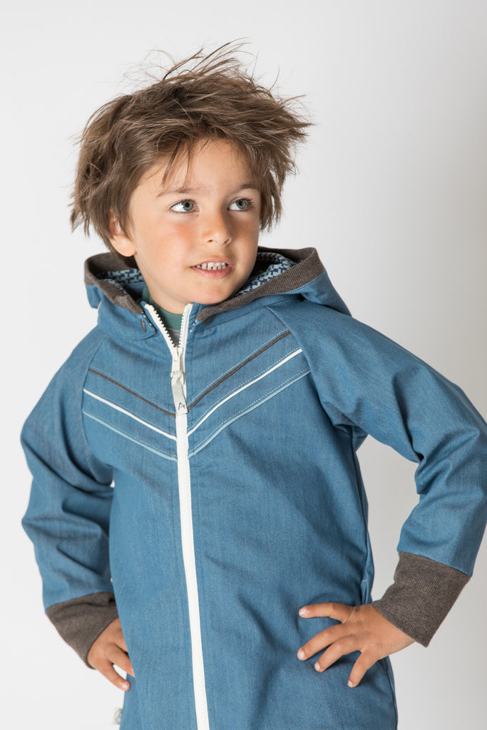 AlbaBabY - Hubert Jacket Real Teal