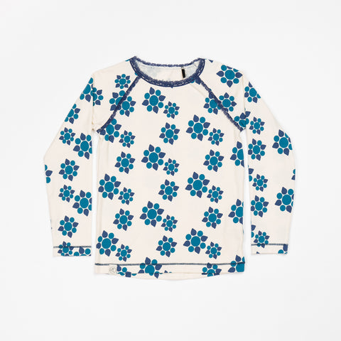 AlbaBaby - Ghita Blouse Seaport Big Wild Flower