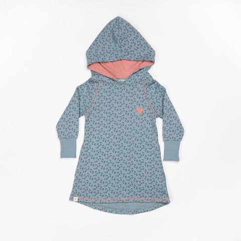 AlbaBaby - Linh Hood Dress Citadel Wild Flower