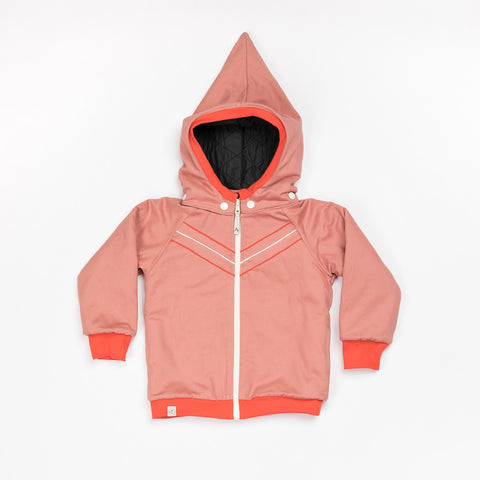 AlbaBaby - Winter Jacket Kim Old Rose - Winterjas Roze