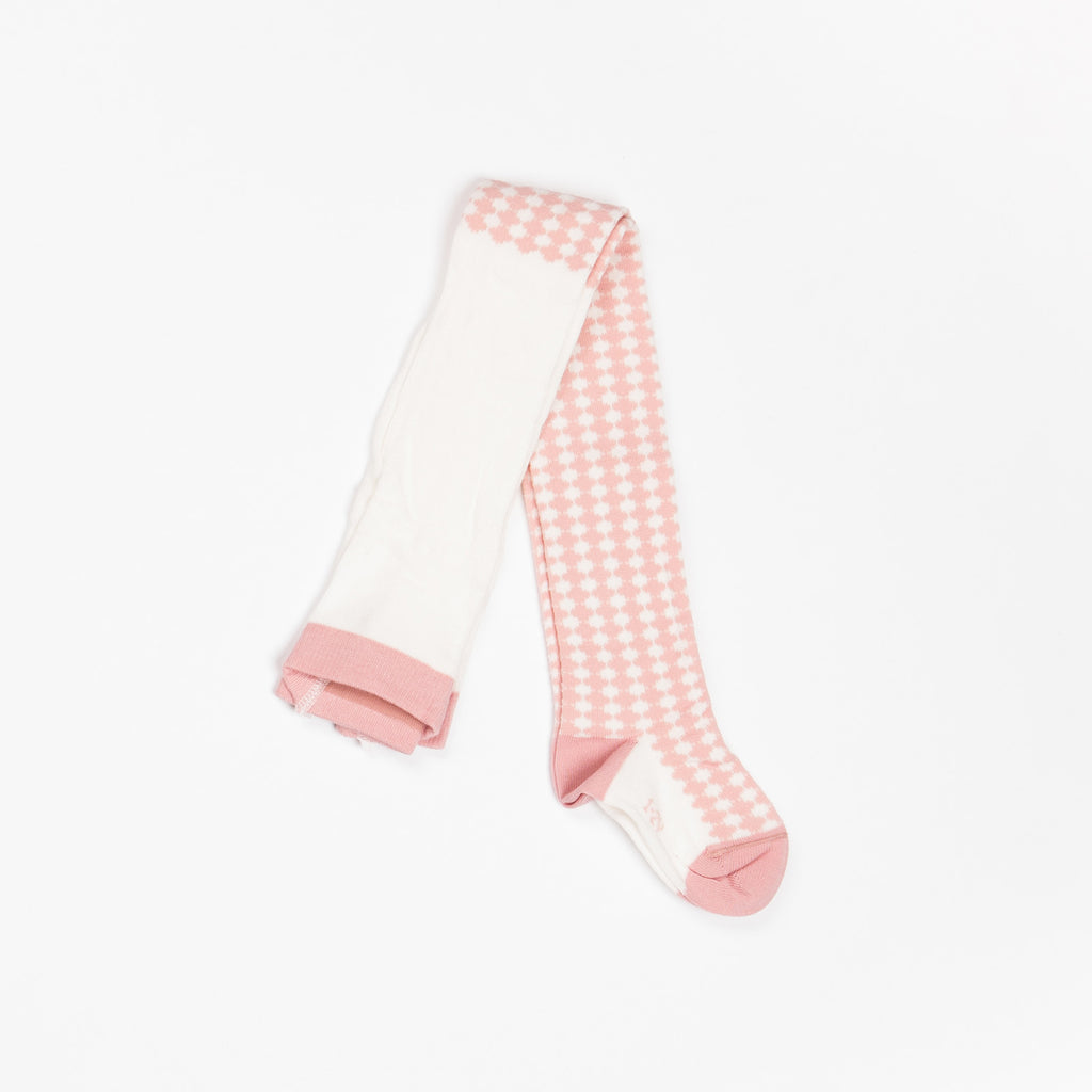 *VERWACHT* AlbaBaby - Ida Tights Old Roze Tiles