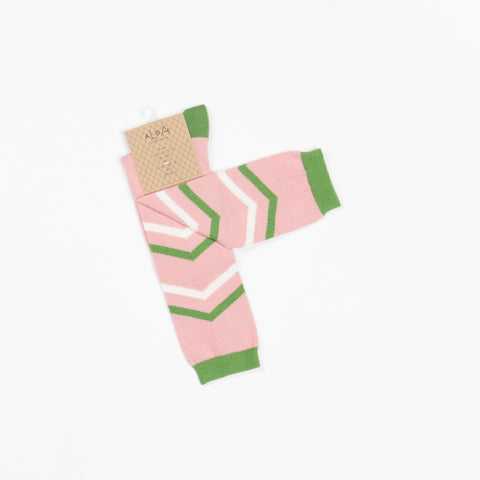 *VERWACHT* AlbaBaby - Annie Knee Socks Old Rose