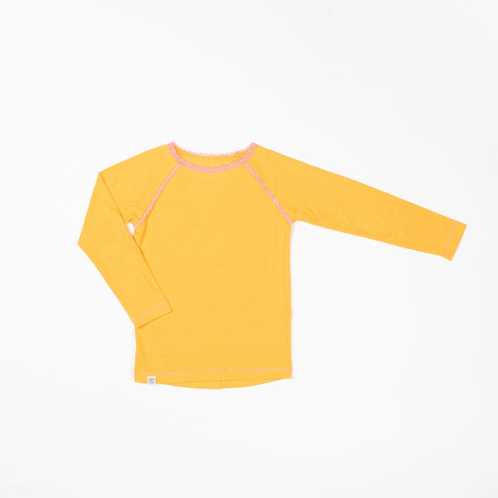 Alba of Denmark - Ghita Blouse Beeswax Adorable Tiles