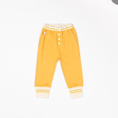 Alba of Denmark - Hai Button Pants Beeswax