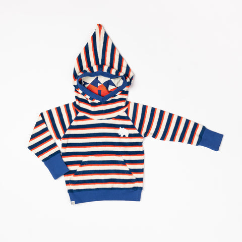 Alba of Denmark - Habian Hoodie Solidate Blue Striped