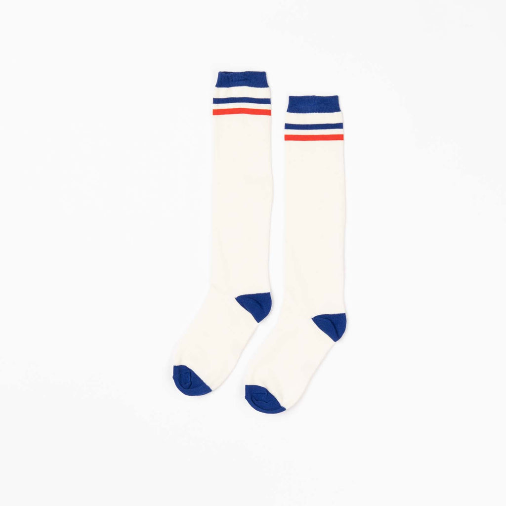 Alba of Denmark - Annie Knee Socks Solidate Blue