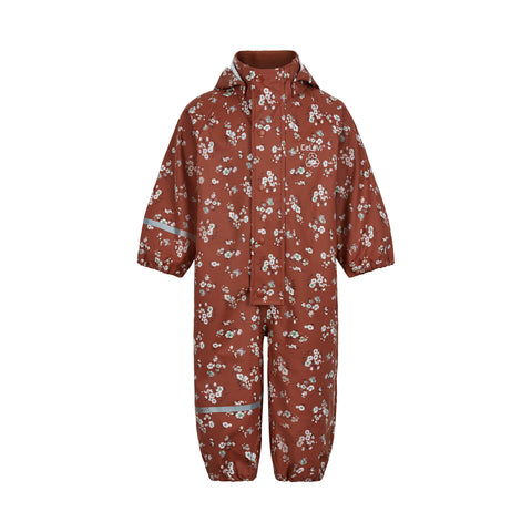 Celavi Rainwear Suit Redwood Meadow - Regenpak Onesie Bloemenweide
