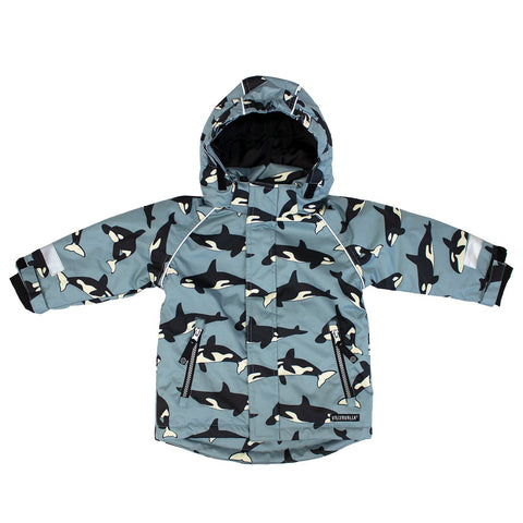 Villervalla - Outdoor Winterjacket Whale/Orca