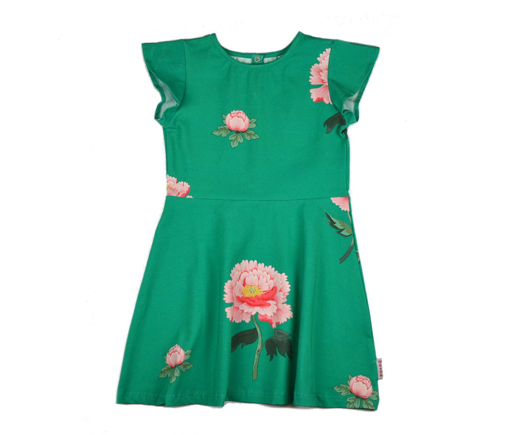 Baba Babywear - Butterfly Dress Peonies