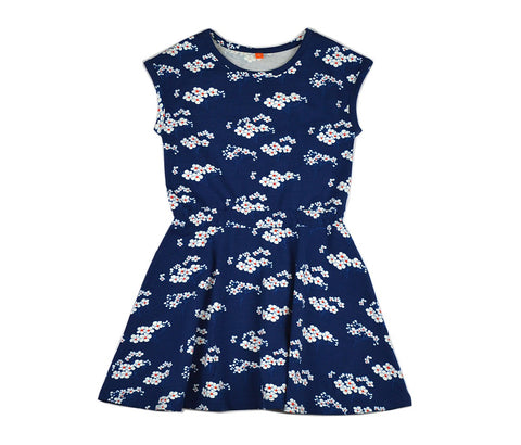 Baba Babywear - Smock Dress Julia Blue