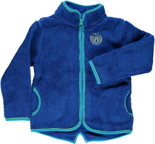 Smafolk - Fleece Zipper Blue - Blauwe fleece