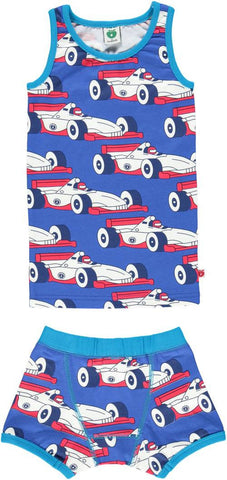 Smafolk - Underwear Racing Car - Ondergoed Raceauto's